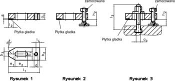 Łapy z płytą miękką wg normy DIN 6314 IM0002096 Zeichnung pl