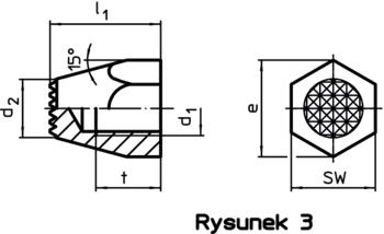 Sworznie podporowe z rowkami lub szpicem  IM0010301 Zeichnung pl