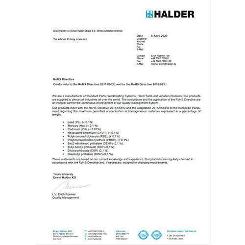 RoHS - Förordning (EG) 2011/65/EG